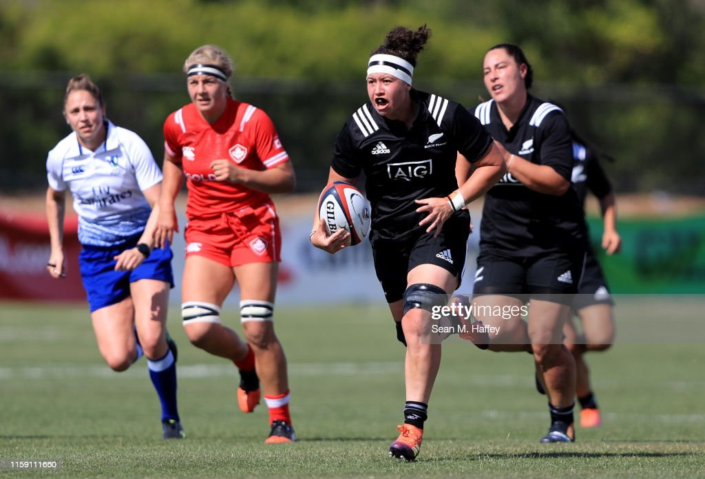 Women's Rugby Super Series 2019 - Day One : News Photo