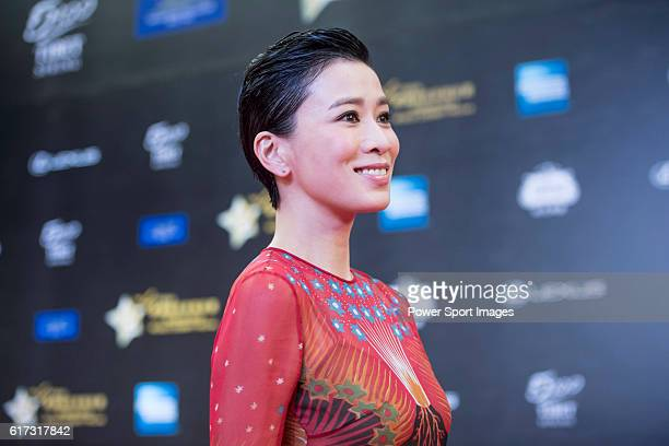 Charmaine Sheh at the Red Carpet event at the World Celebrity ProAm 2016 Mission Hills China Golf Tournament on 20 October 2016 in Haikou China