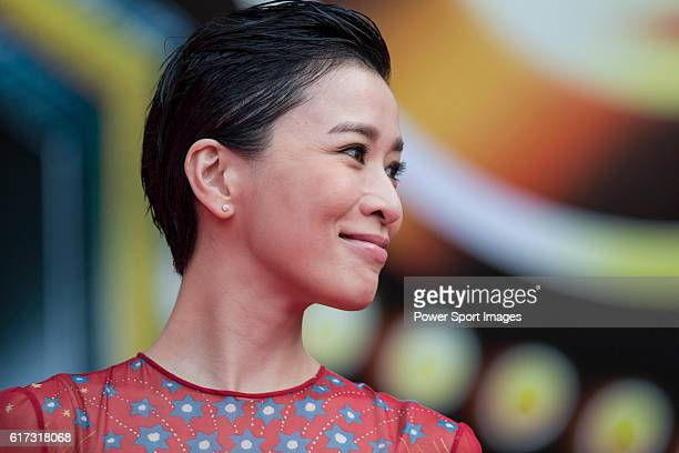 Charmaine Sheh walks the Red Carpet event at the World Celebrity ProAm 2016 Mission Hills China Golf Tournament on 20 October 2016 in Haikou China
