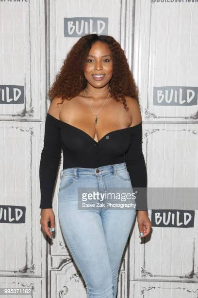 Charmaine visits Build Series to discuss Black Ink Crew Chicago at Build Studio on July 10 2018 in New York City