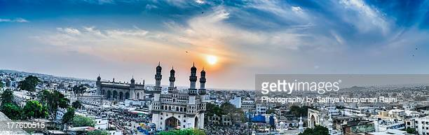 charminar in panoramic view