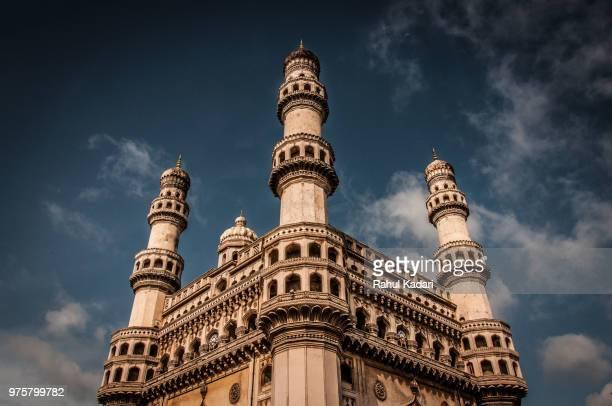 charminar mosque, hyderabad, telangana, india - ハイデラバード ストックフォトと画像
