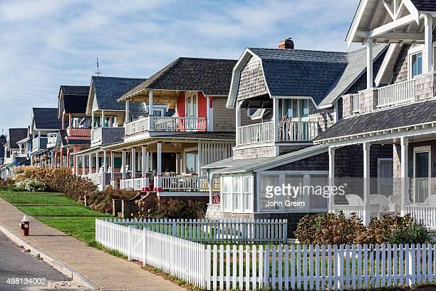 S VINEYARD OAK BLUFFS MASSACHUSETTS UNITED STATES Charming cottage houses along Ocean Park