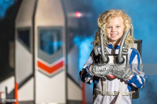 Charming Little Spacegirl