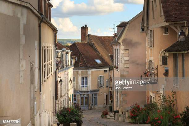 Charming street in French Village