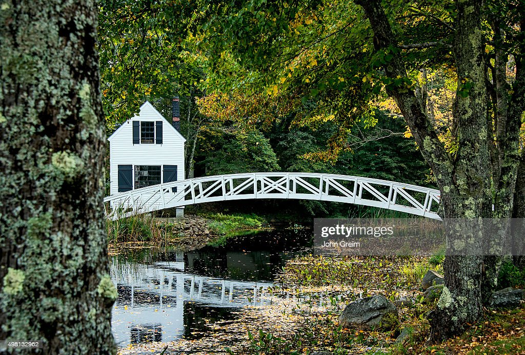 charming wooden footbridge pictures getty images