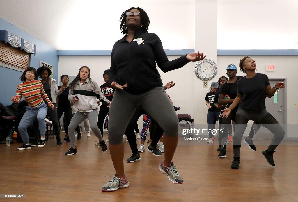 Charnice Charmant, co-director of AfroBeats Dance Boston