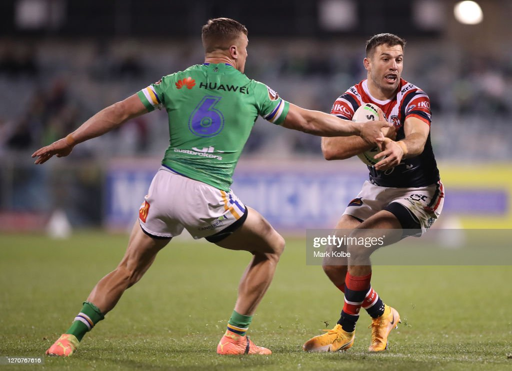 NRL Rd 17 - Raiders v Roosters : ニュース写真