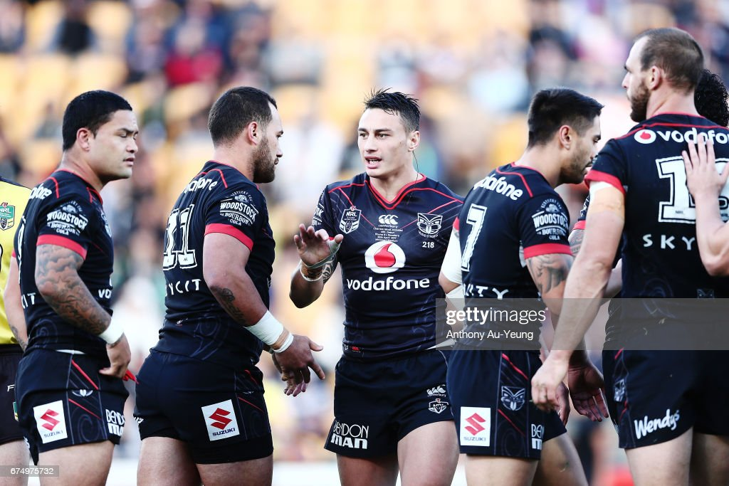 NRL Rd 9 - Warriors v Roosters : News Photo