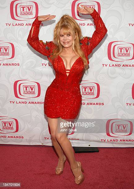 Charo during 5th Annual TV Land Awards - Arrivals at Barker Hanger in Santa Monica, CA, United States.