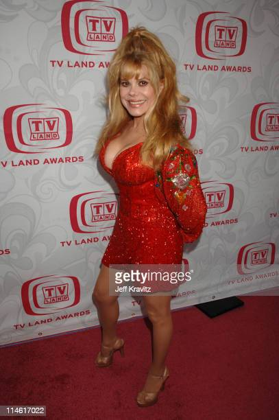 Charo during 5th Annual TV Land Awards - Red Carpet at Barker Hangar in Santa Monica, California, United States.