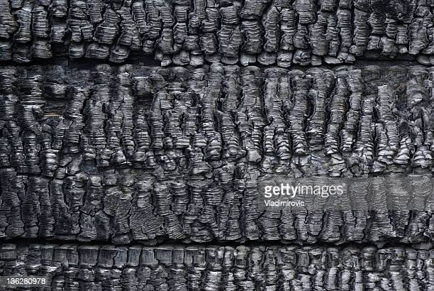 charred wall of planks texture - burnt stock pictures, royalty-free photos & images