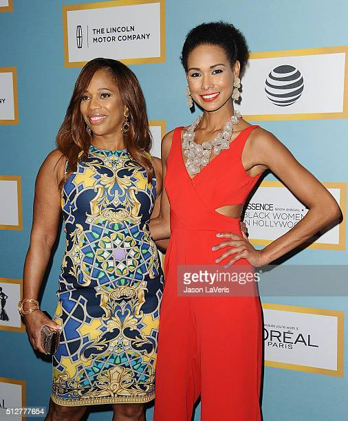 Charrisse Jackson Jordan and Katie Rost attend the Essence 9th annual Black Women In Hollywood event at the Beverly Wilshire Four Seasons Hotel on...