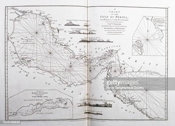 Chart of the Gulf of Persia from Basra to Cape Rosalgate, A Chart of the Gulf of Persia from Basra to Cape Rosalgate from the charts and description...