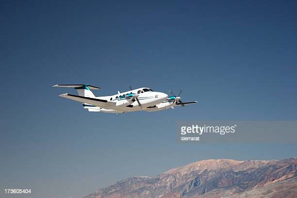 charter jet-6 - propeller stock pictures, royalty-free photos & images