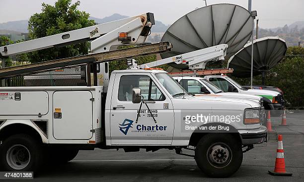 Charter office on San Fernando Road in Glendale California on May 26 2015 Charter Communications is near a deal to acquire Time Warner Cable