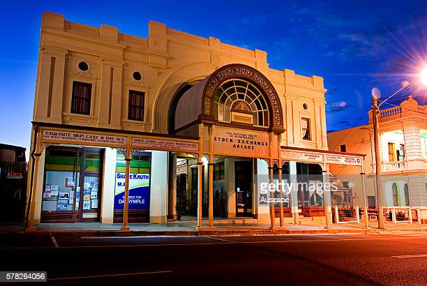 Charters Towers historic Stock Exchange building It began life in 1888 as a shop and office arcade then from 1890 housed Australia's only regional...