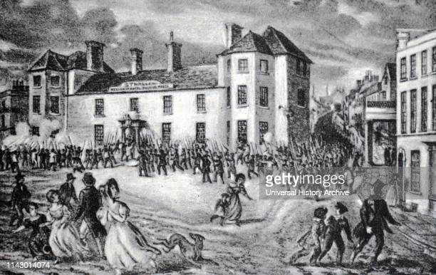 A chartist riot in 1839 An attack on the Westgate Inn Newport