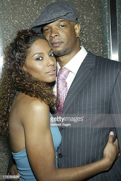 Chartiy and Damon Wayans during Black Sport Agents Association presents the 2006 Achievement Awards and After Party Sponsored by Hennessy at Tribeca...