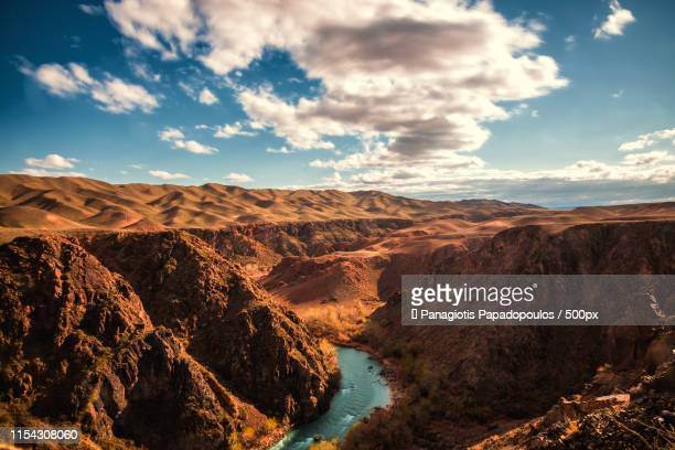 charyn canyon - kazakhstan stock pictures, royalty-free photos & images