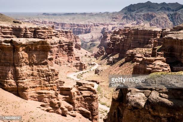 Charyn river Canyon landscape.