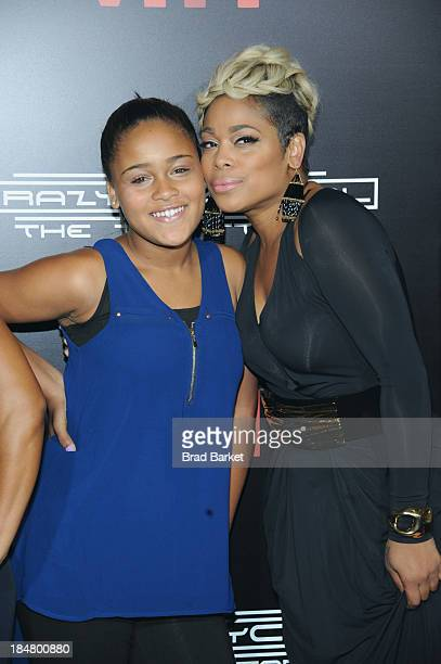 Chase Anela Rolison and Tionne Watkins attend CrazySexyCool Premiere Event at AMC Loews Lincoln Square 13 theater on October 15 2013 in New York City