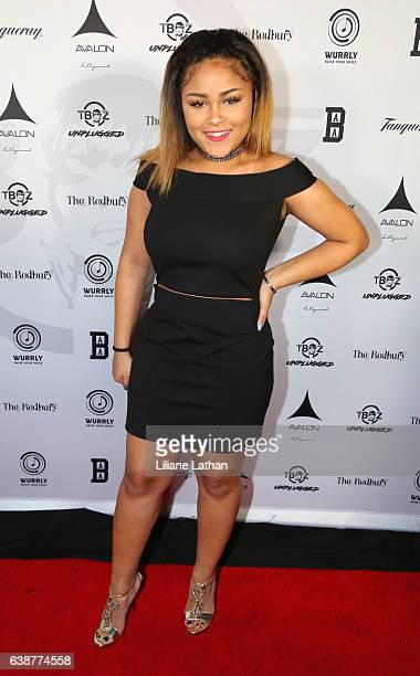 Chase Anela Rolison arrives at the TBoz Unplugged Benefit Concert at Avalon on January 15 2017 in Hollywood California