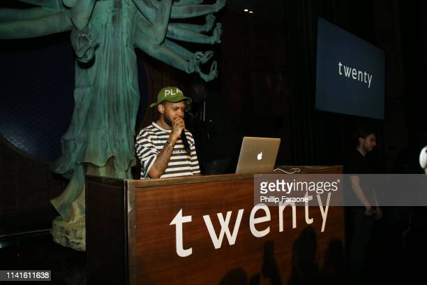 Chase B performs during Twenty Celebrates It's Official Launch At TAO Los Angeles at TAO on April 09 2019 in Los Angeles California