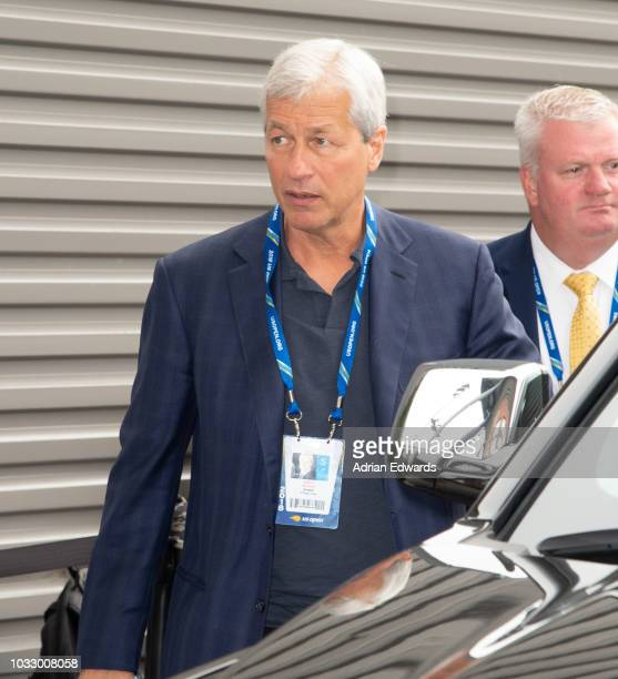 Chase Bank Jamie Dimon at Day 12 of the US Open held at the USTA Tennis Center on September 7 2018 in New York City