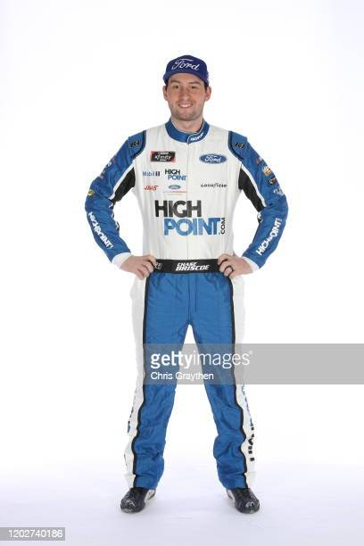 Chase Briscoe poses for a photo during NASCAR Production Days at Charlotte Convention Center on January 28 2020 in Charlotte North Carolina