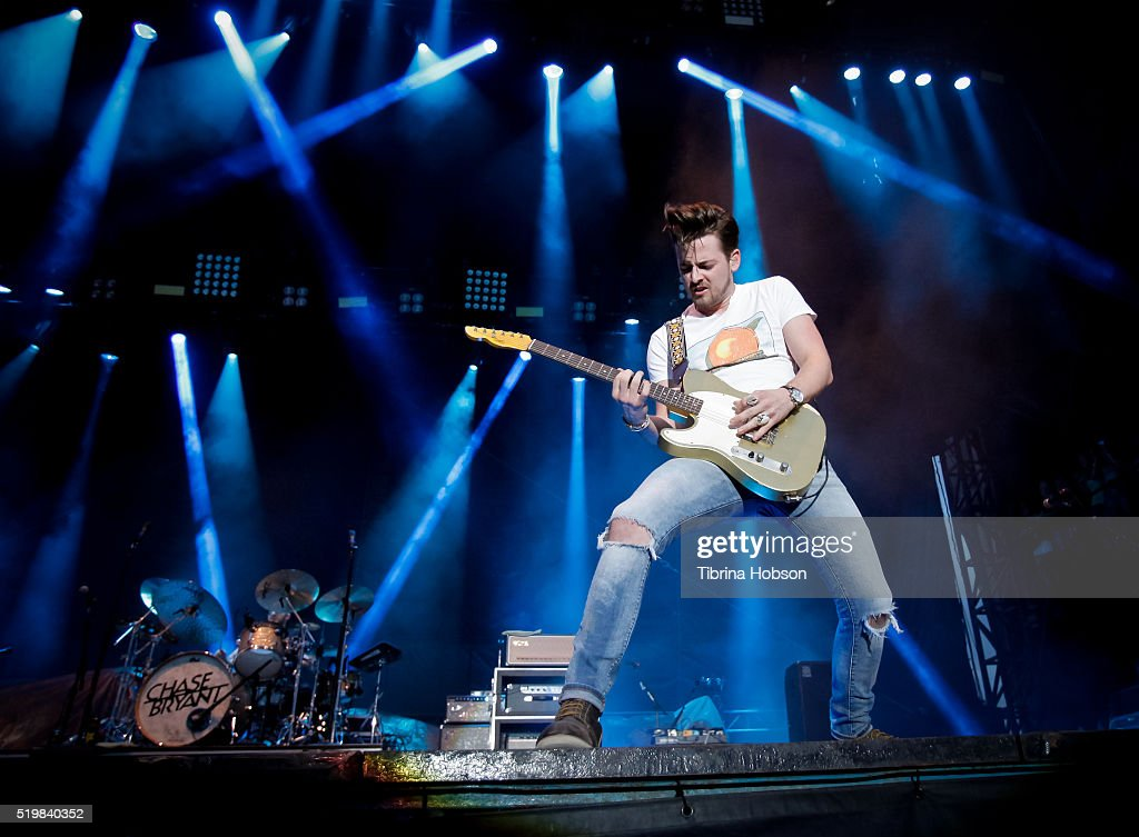 Chase Bryant performs at Country Thunder Arizona 2016 at Country Thunder West on April 7, 2016 in Florence, Arizona.