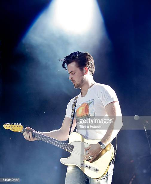 Chase Bryant performs at Country Thunder Arizona 2016 at Country Thunder West on April 7 2016 in Florence Arizona