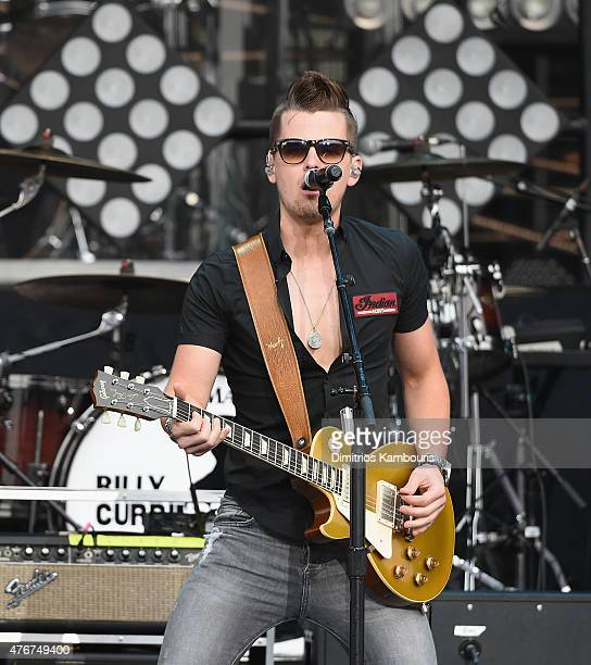 Chase Bryant performs at Tim McGraw In Concert Nikon at Jones Beach Theater on June 11 2015 in Wantagh New York