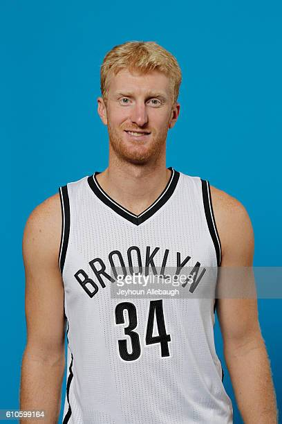 Chase Budinger of the Brooklyn Nets poses for a head shot during the 20162017 Brooklyn Nets Media Day on September 26 2016 at the HSS Training...