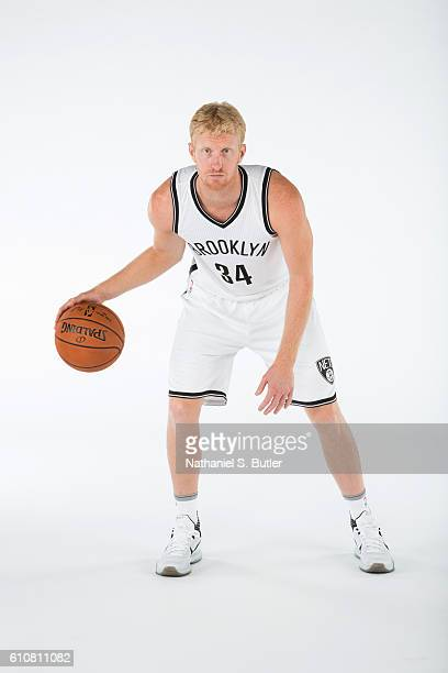 Chase Budinger of the Brooklyn Nets poses for a portrait during the 20162017 Brooklyn Nets Media Day at the Hospital for Special Surgery Training...