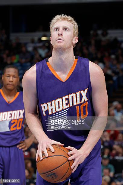 Chase Budinger of the Phoenix Suns attempts a free throw shot against the Sacramento Kings on March 25 2016 at Sleep Train Arena in Sacramento...