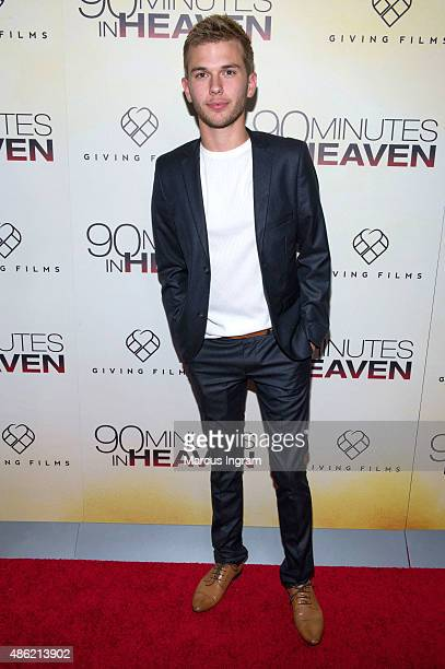 Chase Chrisley attends '90 Minutes In Heaven' Atlanta premiere at Fox Theater on September 1 2015 in Atlanta Georgia