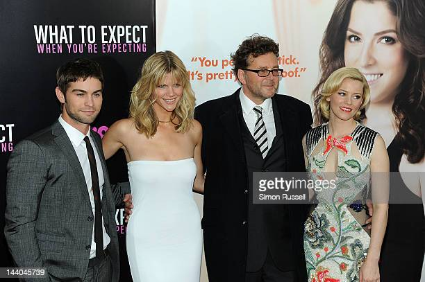 Chase Crawford Brooklyn Decker and Kirk Jones and Elizabeth Banks attend the What To Expect When You're Expecting New York Screening at AMC Lincoln...