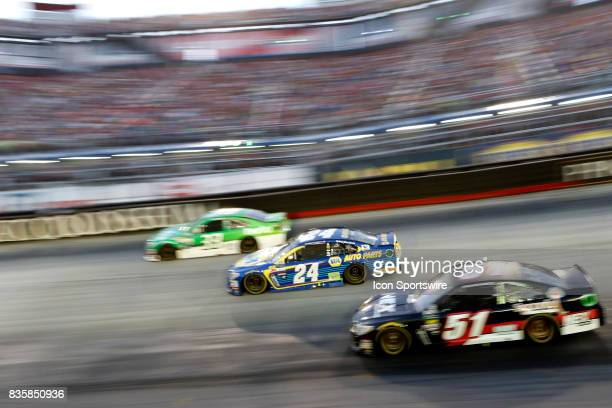 Chase Elliott Hendrick Motorsports NAPA Chevrolet SS Timmy Hill Rick Ware Racing Chevrolet SS Jeffrey Earnhardt Circle Sport Little Joes hulu...