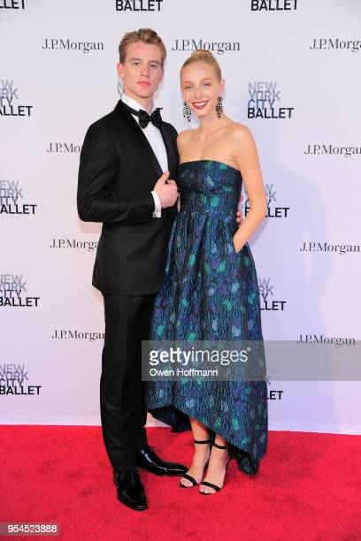 Chase Finlay and Alexandra Waterbury attends New York City Ballet 2018 Spring Gala at David H Koch Theater Lincoln Center on May 3 2018 in New York...