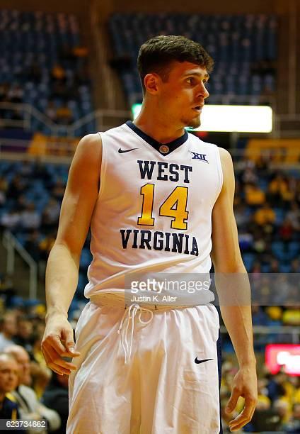 Chase Harler West Virginia Basketball Jersey - White