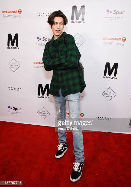 Chase Hudson attends SYLVANIA SMART Presents Mashup LA on November 14 2019 in Los Angeles California