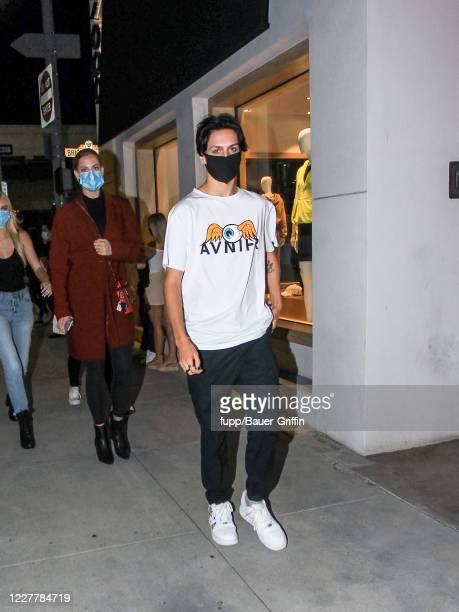 Chase Hudson is seen on July 25 2020 in Los Angeles California