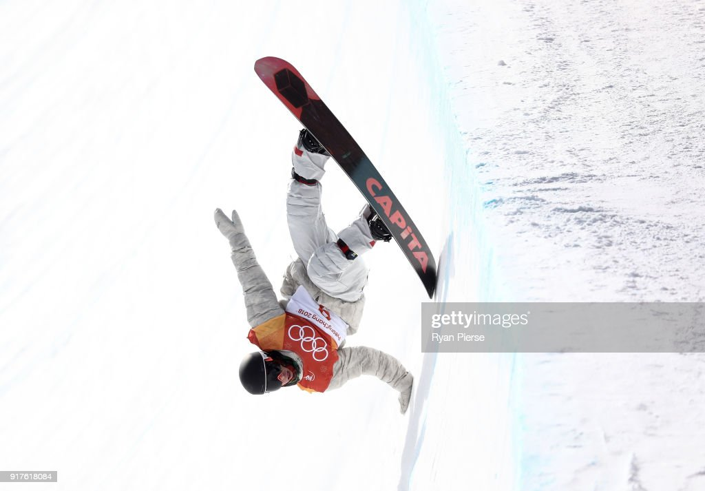Chase Josey of the United States during the Snowboard Men's Halfpipe Qualification on day four of the PyeongChang 2018 Winter Olympic Games at Phoenix Snow Park on February 13, 2018 in Pyeongchang-gun, South Korea.