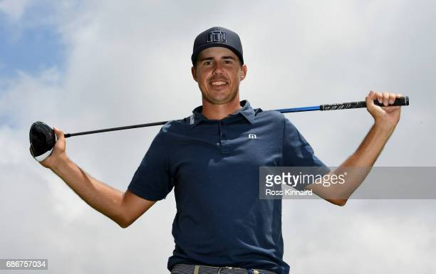 Chase Koepka of the USA poses for a portrait during the first round of Andalucia Costa del Sol Match Play at La Cala Resort on May 18 2017 in La Roda...