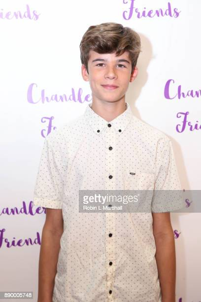 Chase Mangum attends Chandler's Friends Toy Drive And Wrapping Party at Los Angeles Ballet Academy on December 10 2017 in Encino California