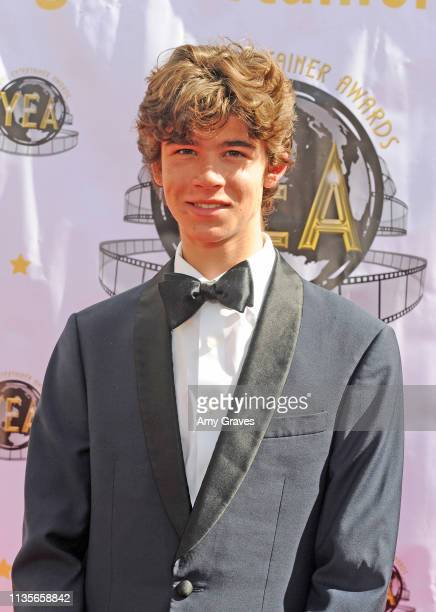Chase Mangum attends the 2019 Young Entertainer Awards at Steven J Ross Theatre on the Warner Bros Lot on April 7 2019 in Burbank California