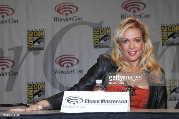 Chase Masterson during Wonder-Con - Day 3 at Moscone Center in San Francisco, California, United States.