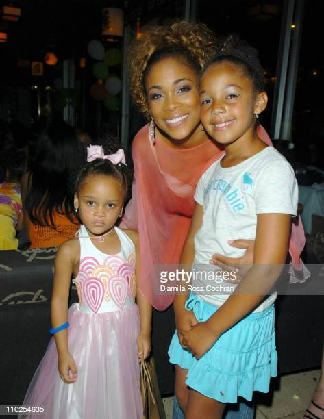 Chase TBoz and Dallas Sermon during TBoz Life Style Weekly Make A Wish Foundation Present Chase's Closet Launch at The Park in New York City New York...