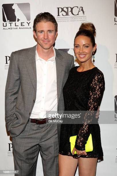 Chase Utley and Jennifer Utley attend the 6th Annual Utley AllStar Animals Casino Night to benefit the Pennsylvania SPCA at The Electric Factory May...